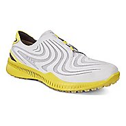 Mens Ecco Golf S-Drive Cleated Shoe - Concrete/Kiwi 47