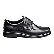 Mens Ecco Helsinki Bike Toe Tie Casual Shoe - Black 7.5