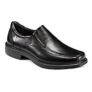 Mens Ecco Helsinki Bike Toe Slip On Casual Shoe - Black 15.5