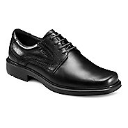 Mens Ecco Helsinki Plain Toe Tie Casual Shoe - Black 6.5