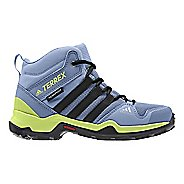Kids adidas Terrex AX2R Mid CP Hiking Shoe - Blue/Black/Yellow 11C