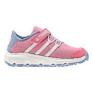 Kids adidas Terrex CC Voyager CF Hiking Shoe - Pink/White/Purple 6.5Y