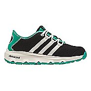 Kids adidas Terrex CC Voyager Hiking Shoe - Black/White/Green 1Y