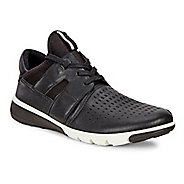 Mens Ecco Intrinsic 2 Perf Casual Shoe - Black/Black 42