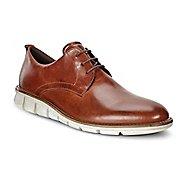 Mens Ecco Jeremy Hybrid Tie Casual Shoe - Cognac 12.5