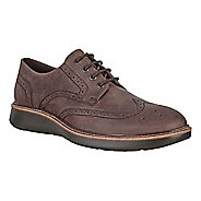 Mens Ecco Lhasa Brogue Tie Casual Shoe