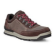 Mens Ecco Oregon Retro Sneaker Casual Shoe - Coffee/Coffee 46