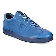 Mens Ecco Soft 1 Tie Casual Shoe - Cobalt 46