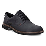 Mens Ecco Turn GTX Plain Toe Tie Casual Shoe - Black/Black 44
