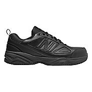 Mens New Balance 627v2 Walking Shoe - Black/Black 13