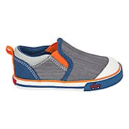 Boys See Kai Run Slater Casual Shoe - Grey/Blue 6C
