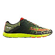 Mens Salming Speed 6 Running Shoe - Safety Yellow/Black 12.5