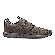 Mens New Balance 247 Suede Casual Shoe - Grey 10.5