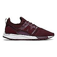 Womens New Balance 247 Casual Shoe - Cherry/White 8.5