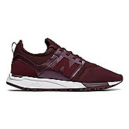 Womens New Balance 247 Casual Shoe - Cherry/White 9.5