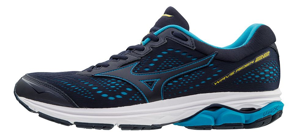 2a7db7c7ea61 Men's Mizuno Wave Rider 22. Running Shoes. Item #21358. MSRP:$119.95.  Loading product details ... Your Color: Black/Gold. Your Size: