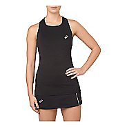 Womens ASICS Sleeveless & Tank Technical Tops - Performance Black L