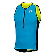 Mens Pearl Izumi Elite Pursuit Tri Singlet Sleeveless & Tank Tops Technical  Tops - Atomic .