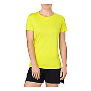 Womens ASICS Short Sleeve Non-Technical Tops - Sulphur Spring S