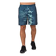 Mens ASICS 7-inch Print Lined Shorts