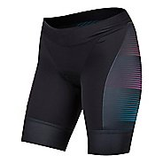 Womens Pearl Izumi Elite Pursuit Graphic Tri Unlined Shorts - Diffuse Prism XS