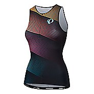 Womens Pearl Izumi Elite Pursuit Graphic Tri Singlet Sleeveless & Tank Tops Technical Tops