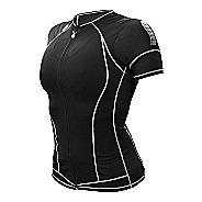Womens De Soto Skin Cooler Tri Short Sleeve Technical Tops - Black L