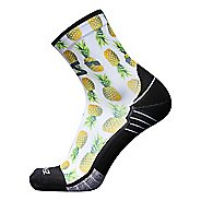 Zensah Foodie Mini Crew Socks - Pineapple S