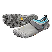 Womens Vibram V-Aqua Trail Running Shoe - Grey/Blue 8.5