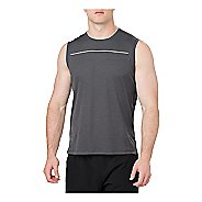 Mens ASICS Lite-Show Sleeveless & Tank Technical Tops - Performance Black XXL