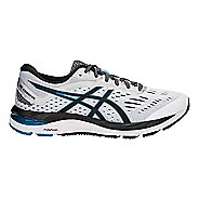 Mens ASICS GEL-Cumulus 20 Running Shoe - Grey/Black 12