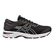 Mens ASICS GEL-Kayano 25 Running Shoe - Black/Grey 10.5