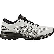 Mens ASICS GEL-Kayano 25 Running Shoe - Grey/Black 10.5