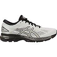 Mens ASICS GEL-Kayano 25 Running Shoe - Grey/Black 9.5