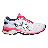 Womens ASICS GEL-Kayano 25 Running Shoe - White/White 9