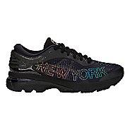 Womens ASICS GEL-Kayano 25 NYC Running Shoe - Black/Black 7