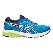 Kids ASICS GT-1000 7 Running Shoe - Azure/Purple 5Y