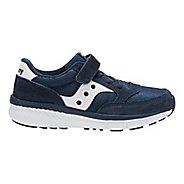 Kids Saucony Jazz Lite AC Running Shoe - Navy/White 12.5C
