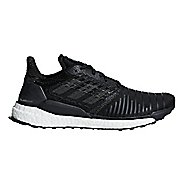 Mens adidas Solar Boost Running Shoe - Black/Grey 8