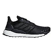 Mens adidas Solar Boost Running Shoe - Black/Aqua 11