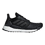 Womens adidas Solar Boost Running Shoe - Black/Grey 8
