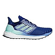 Womens adidas Solar Boost Running Shoe - Mystery Ink 8