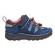 Kids Keen Hikeport WP Hiking Shoe - Blue Fiery Red 1Y