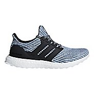 Mens adidas Ultra Boost Parley Running Shoe - White/Carbon 10