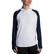Womens Brooks Dash Half-Zips & Hoodies Technical Tops