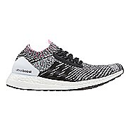 Womens adidas Ultra Boost X Running Shoe - Black/Shock Pink 8.5