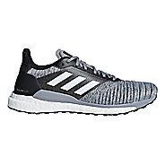 Mens adidas Solar Glide Running Shoe - Grey/Black 12