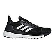 Womens adidas Solar Glide Running Shoe - Black/White 11