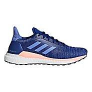 Womens adidas Solar Glide Running Shoe - Lilac/Grey 6.5