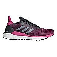 Womens adidas Solar Glide Running Shoe - Magenta/Grey 6